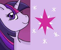 MLP: Twilight Sparkle Keychain