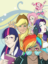 Introducing... The Mane Six!