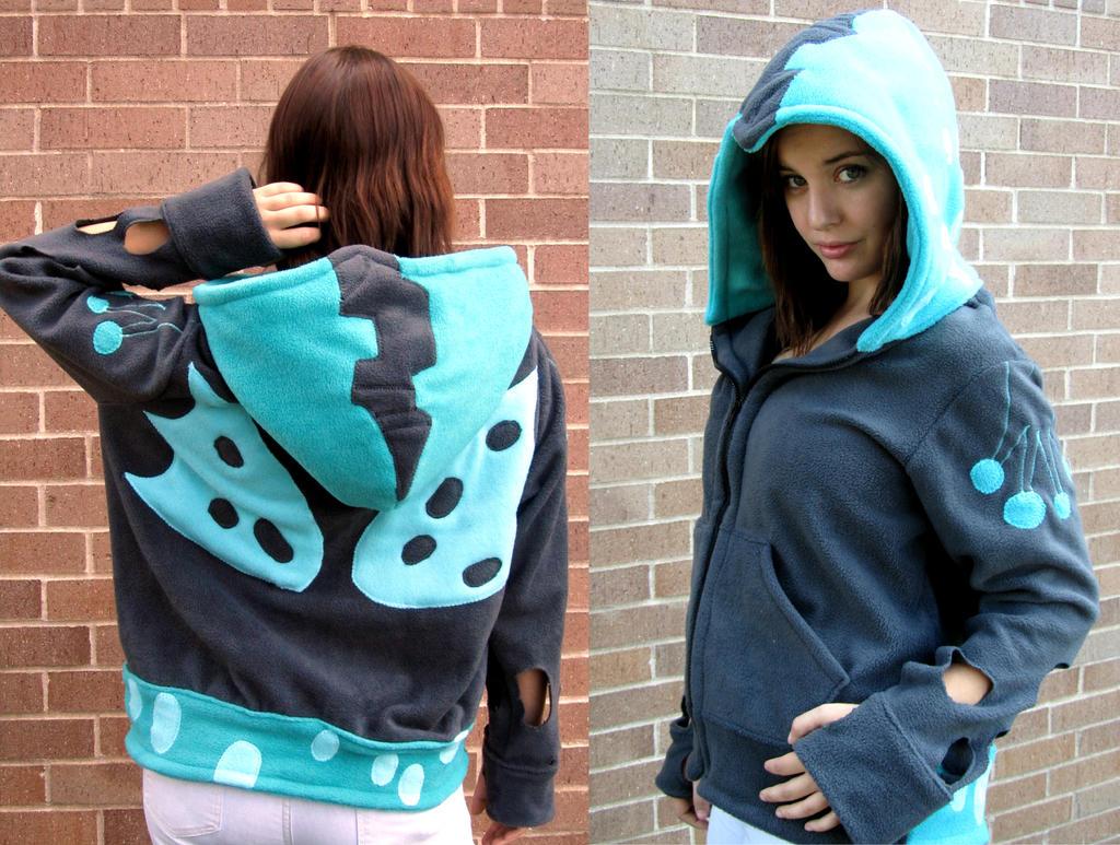 Queen Chrysalis Handmade Hoodie / Sweatshirt by Lisa-Lou-Who