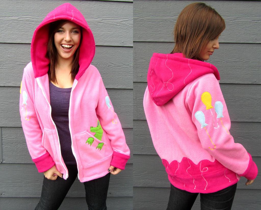 Pinkie Pie Hoodie by Lisa-Lou-Who
