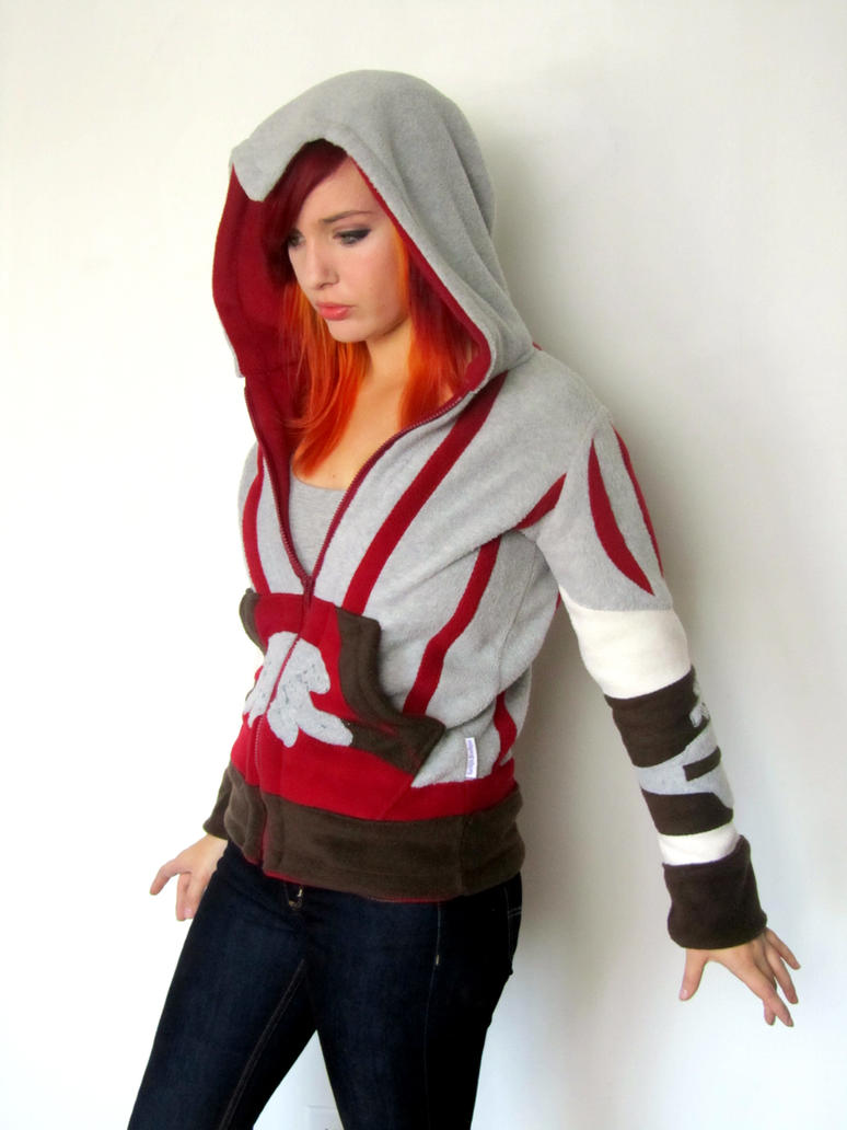 Ezio-inspired Hoodie by Lisa-Lou-Who