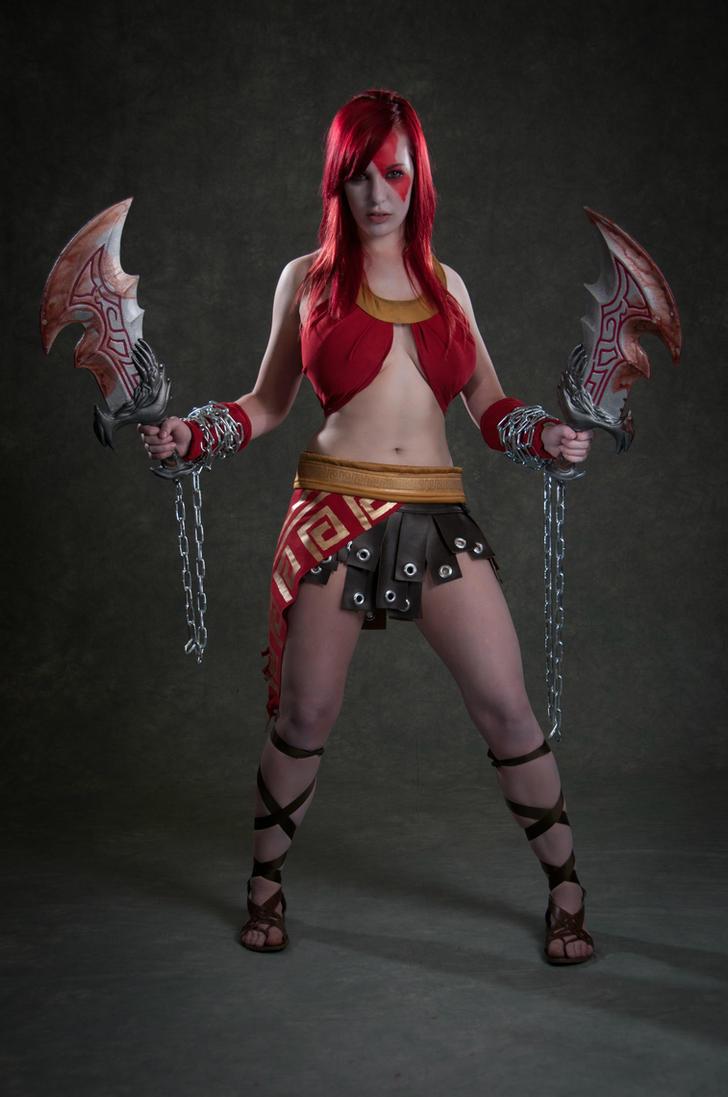 Kratos, Goddess of War by Lisa-Lou-Who