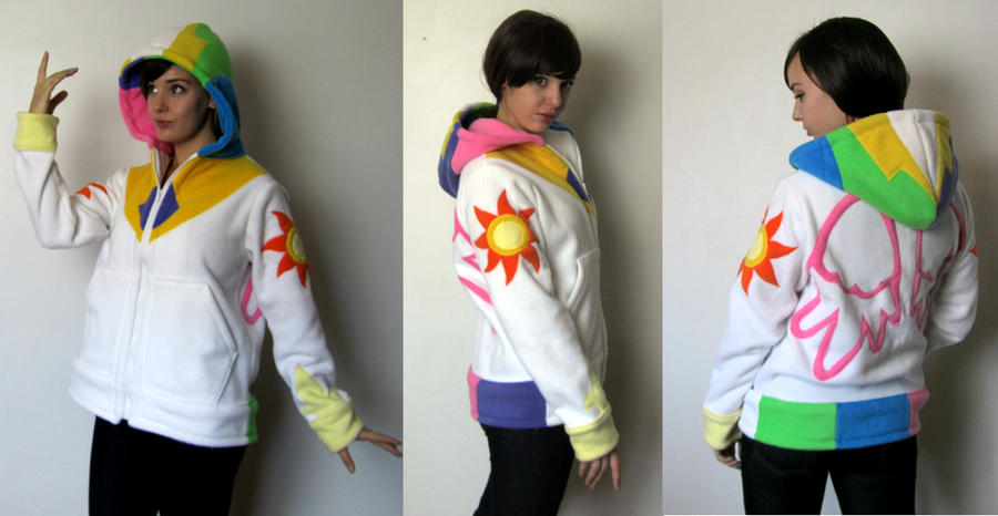 Princess Celestia Hoodie by Lisa-Lou-Who