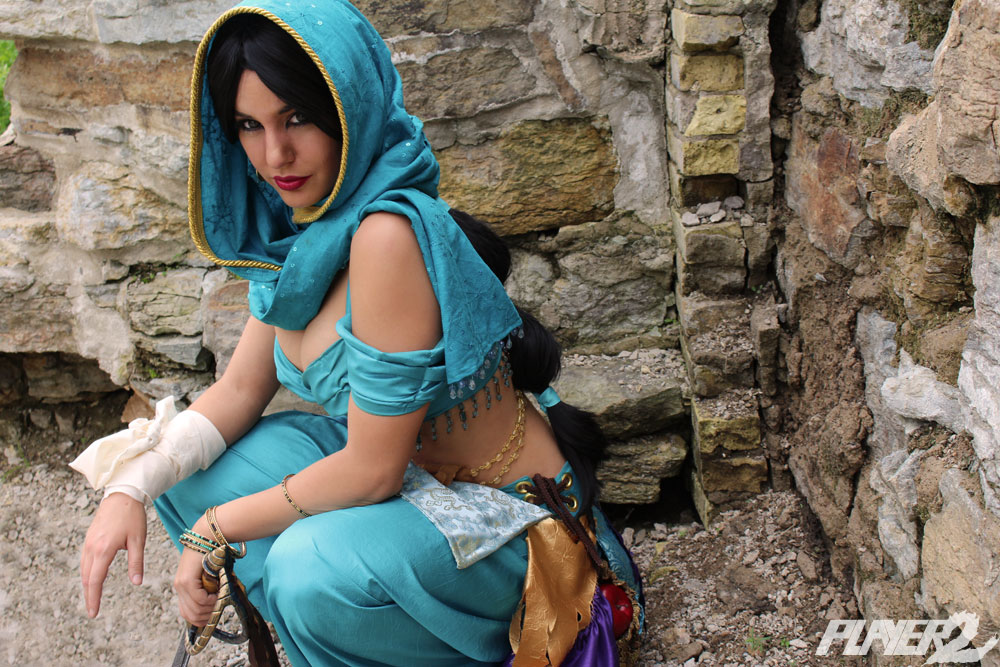 Jasmine, Thief of Agrabah by Lisa-Lou-Who