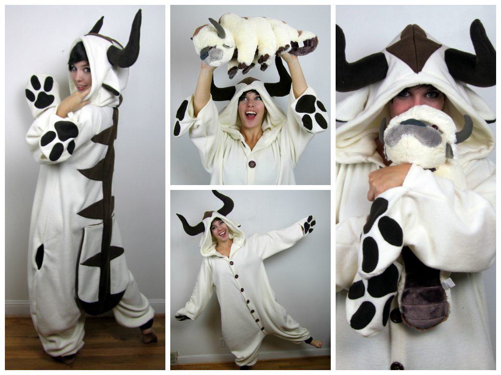 Appa / Sky Bison Kigurumi by Lisa-Lou-Who