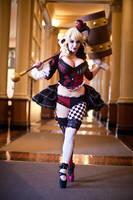 Victorian Harley Quinn en pointe 2