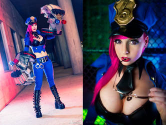 Officer Vi Cosplay