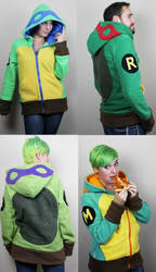 Turtle hoodies!