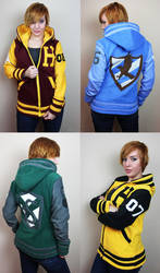 Custom Handmade Harry Potter Letterman Jackets