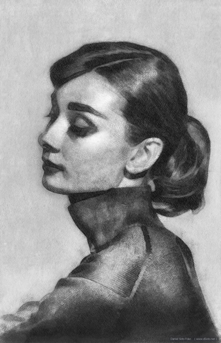 Audrey Hepburn (Classic Beauty) by dSoto-Studio