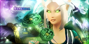 my mage in world of warcraft - profile picture by Serendiadotde