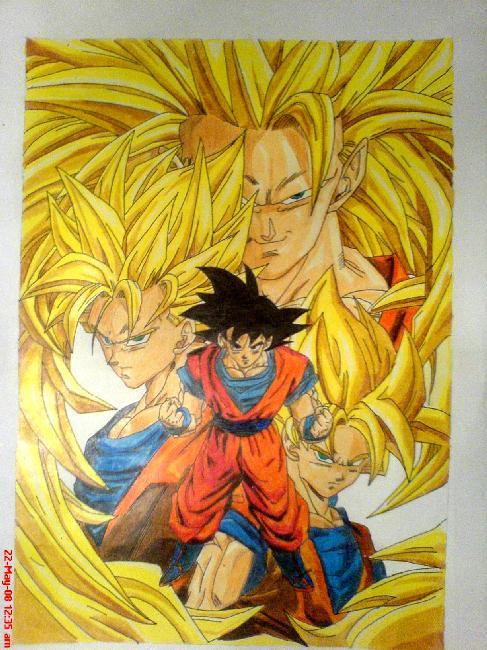Dragon Ball Z by chendolandia