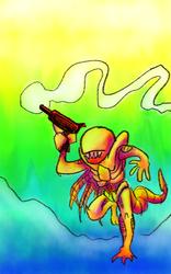 RAY GUN REBELLION by surrealdeamer