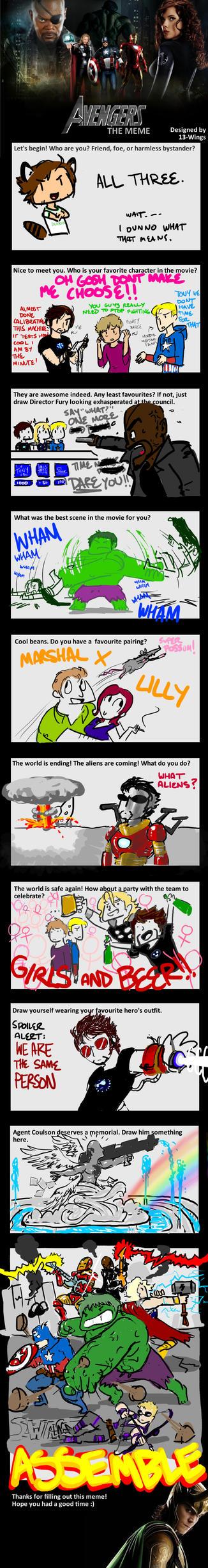 Avengers Meme: SPOILERS by supermanwich23