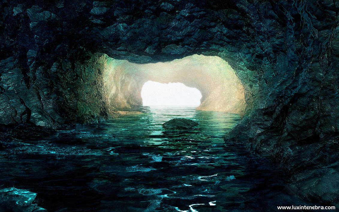 Underwater Cave by coccoluto on DeviantArt