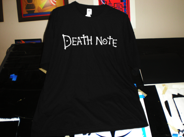 Death Note Tee Shirt by Upsilon400