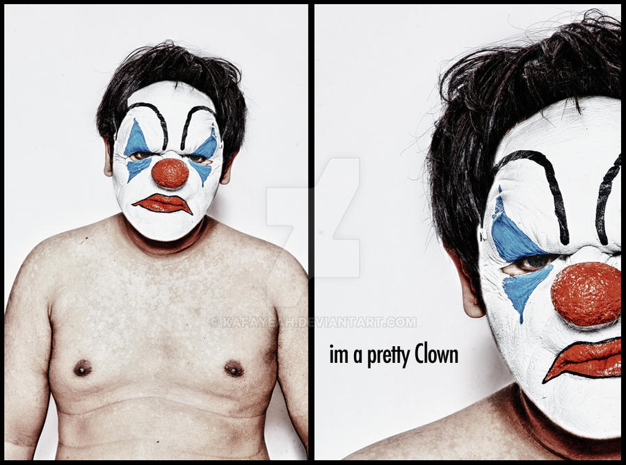 Preety Clown by kafayeah