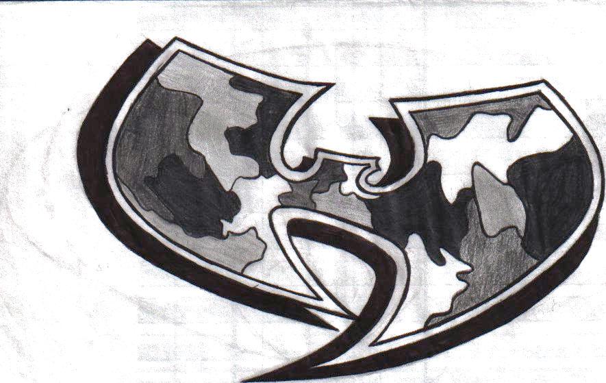 Wu-Tang Camo Logo by DvD99