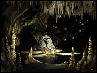 Cave by f0xyme