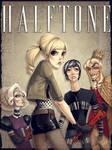 Halftone Comic Cover