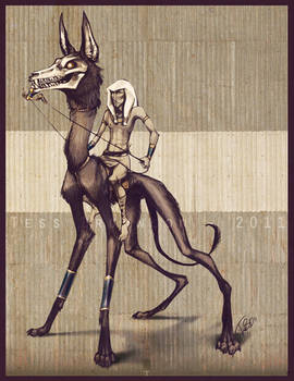 The Pharoah's Hunting Dog