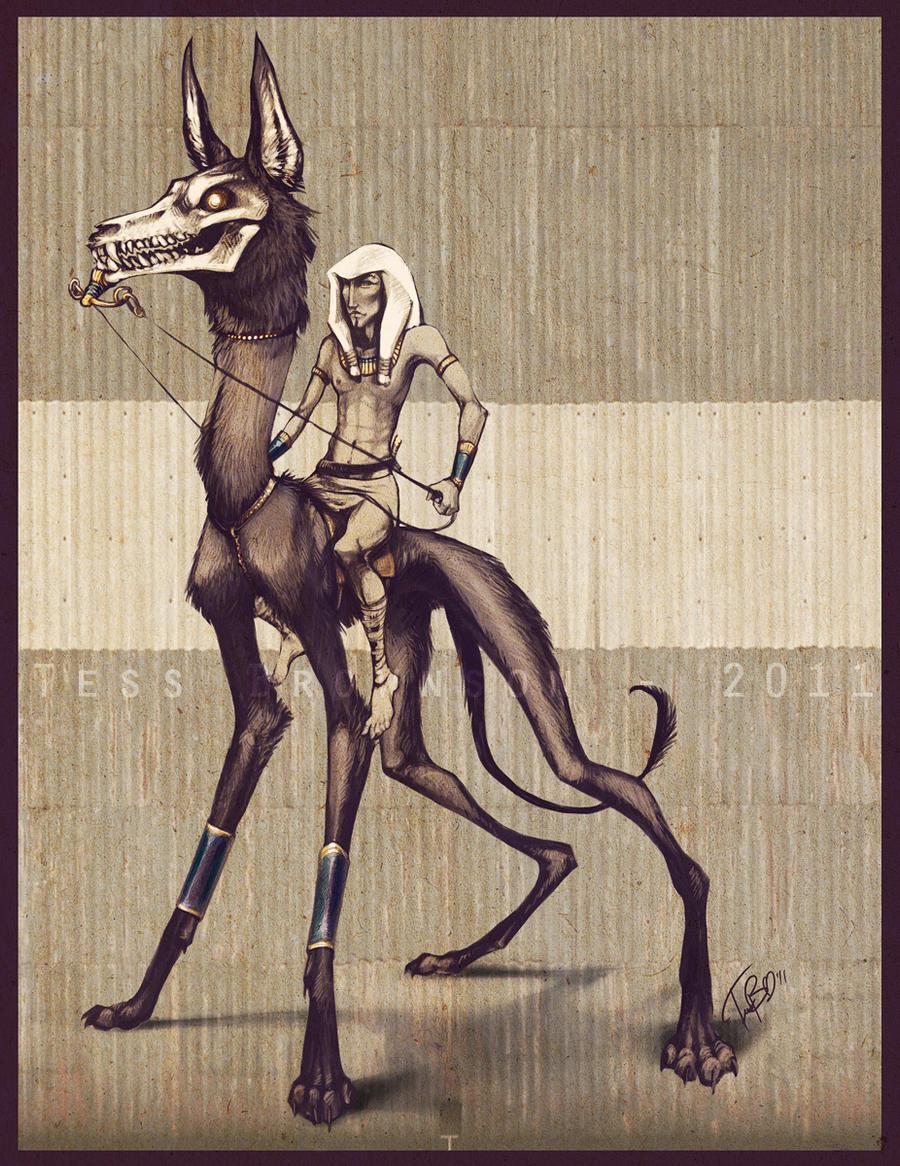 The Pharoah's Hunting Dog