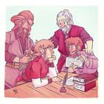 Ri Family by nerdeeart