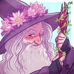 Gandalf by nerdeeart