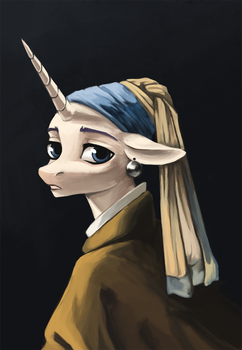 Mare with a Pearl Earring