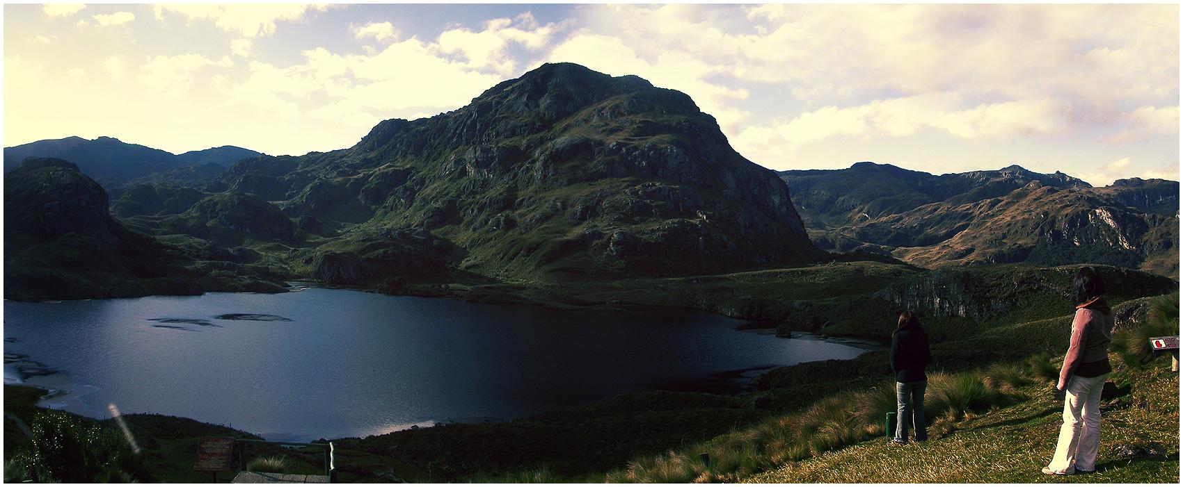 El Cajas - Panorama by mauricioestrella