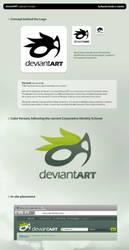 dA Logo Concept