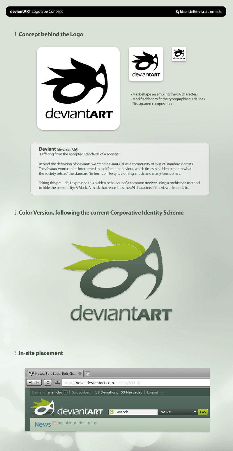 dA Logo Concept by mauricioestrella
