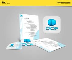 Dice - Stationery Design by mauricioestrella