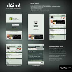 dAim Concept - devious IM App