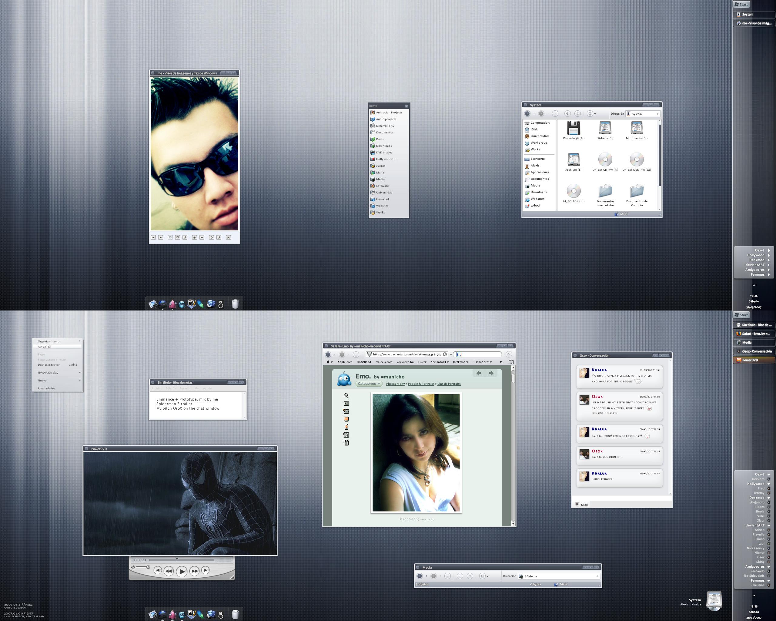 My 'Emitype' desktop by mauricioestrella