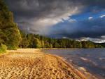 Golden Scottish Loch