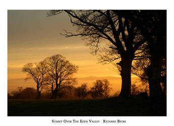 Sunset Over The Eden Valley by richsabre