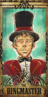 The Ringmaster by Of-Red-And-Blue