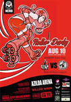 Nickel City Roller Derby Aug 10th Poster!