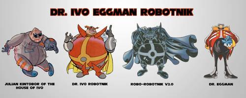 Dr. Ivo 'Eggman' Robotnik by Drewmaru