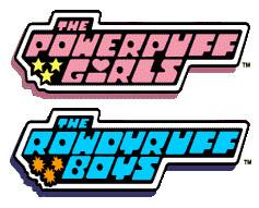 Powerpuff and Rowdyruff Logos by Drewmaru