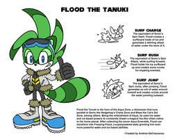 Flood the Tanuki by Drewmaru
