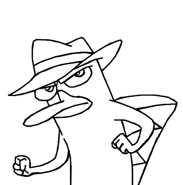 how to draw agent p