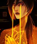 golden tears [Zhongli Genshin Impact]