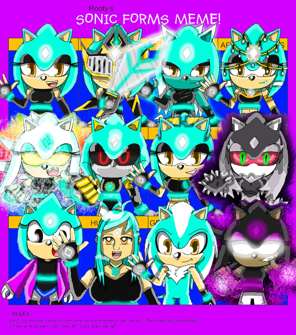 Sonic Forms: Memes And Comics On The-Wisp-Ologists