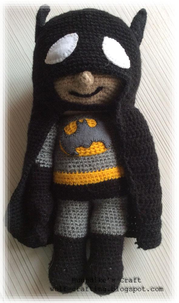 Amigurumi Batman by hund1kene