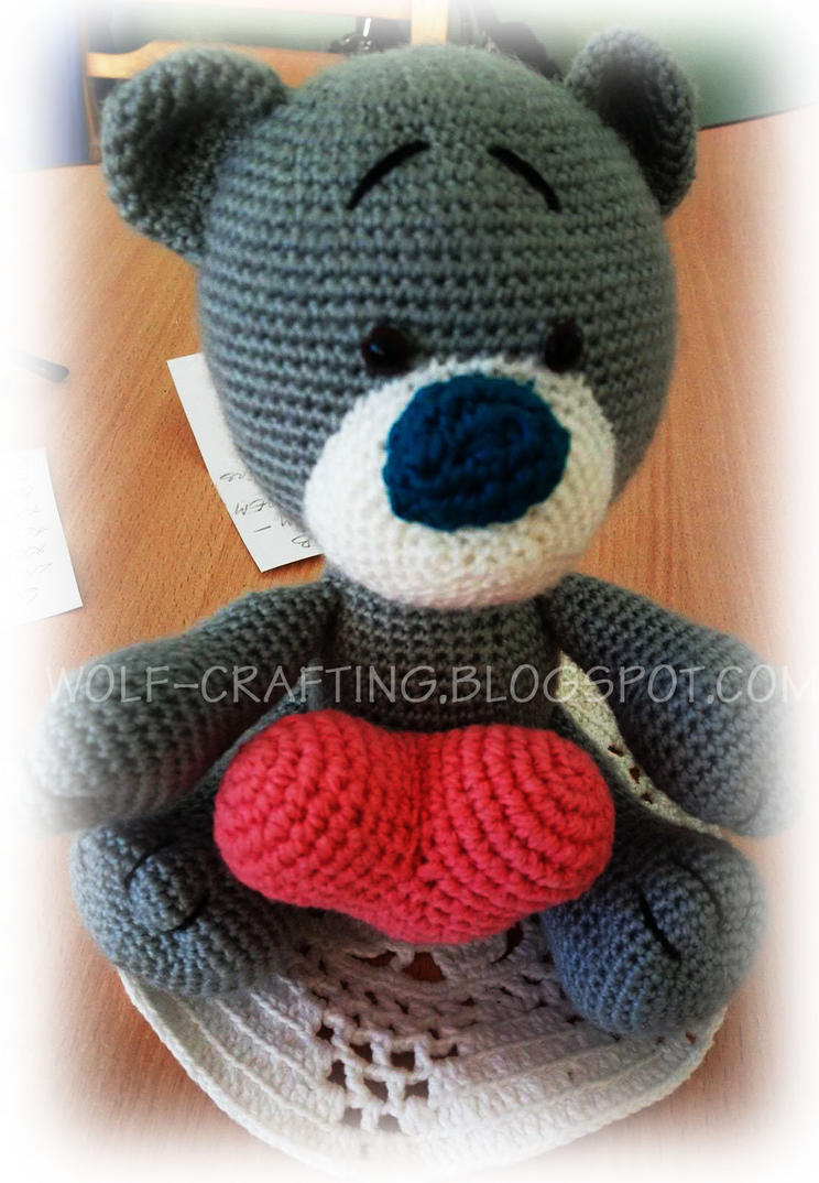 Teddy bear by hund1kene