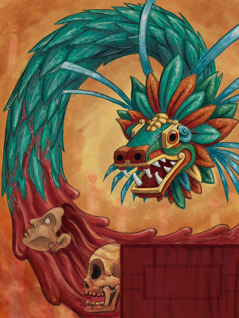 ~Chorifug Tales~ - Página 8 Quetzalcoatl_by_urielhidalgo-d4dujxr