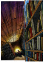 Coriandoli's Bookstore by m2mazzara