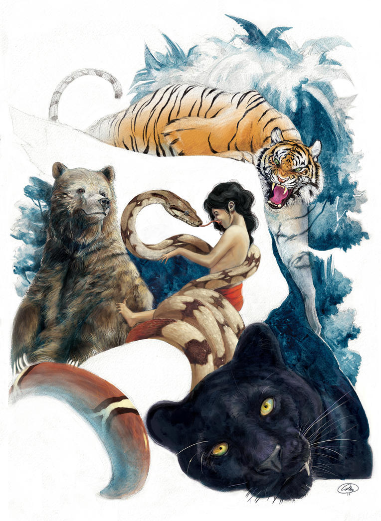The Jungle Book by m2mazzara